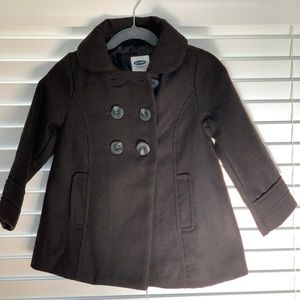 Toddler girl pea coat